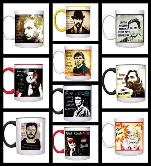 Serial Killer Mugs